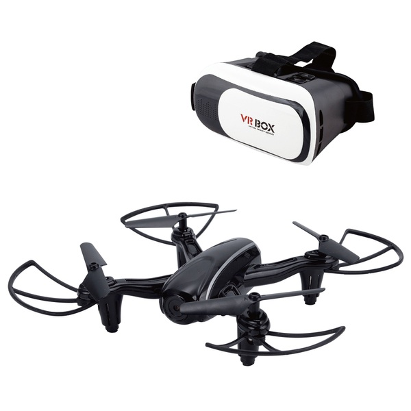 Wifi Drone with Virtual Reality Headset