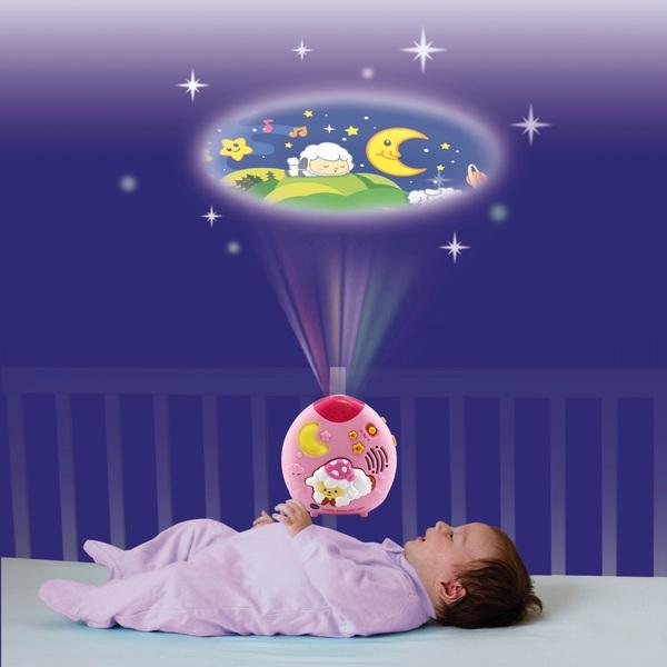 VTech Lullaby Sheep Cot Light - Pink
