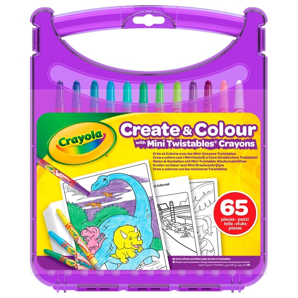 Crayola Create & Colour Mini Twistables