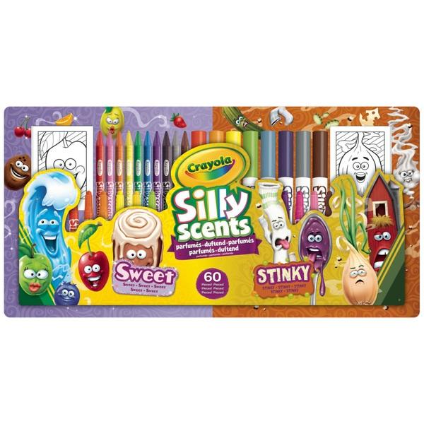 Crayola Silly Scents Sweet & Stinky Kit
