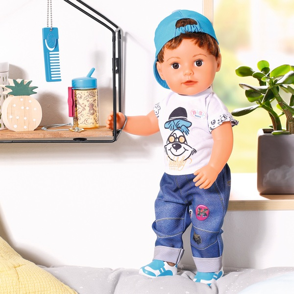 BABY born Soft Touch Brother Doll