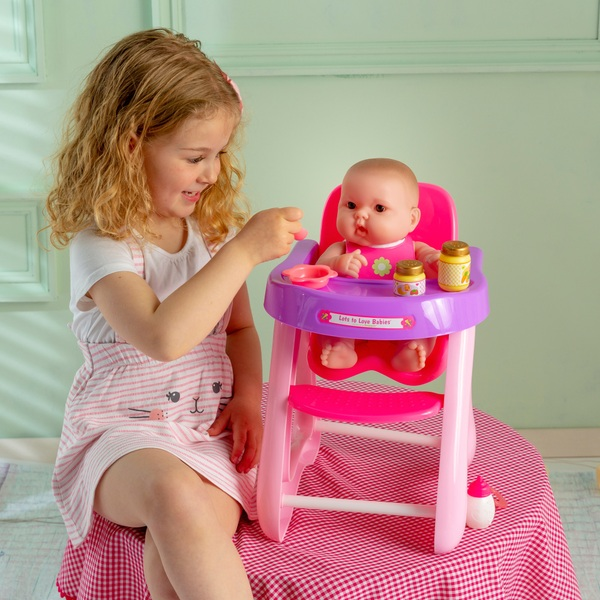 Lots to Love Baby with Highchair