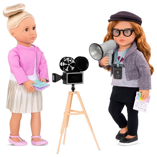 Our Generation Cameras Rolling Accessory Set