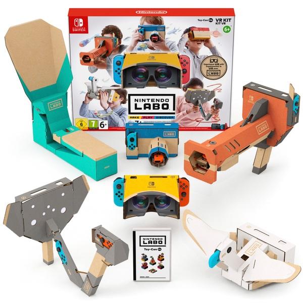 5ac4dad38 Nintendo Labo Toy Con 04: VR Kit