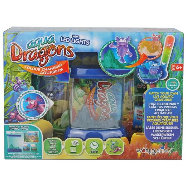 AquaDragons Underwater Deluxe Colour Change Aquarium