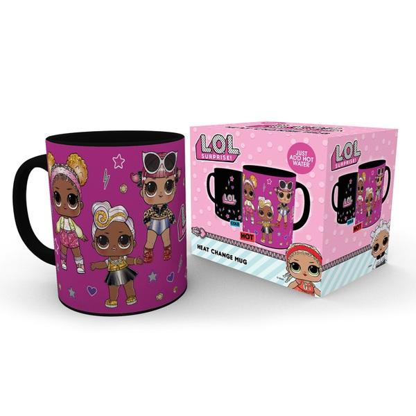 L.O.L. Surprise! Heat change Mug