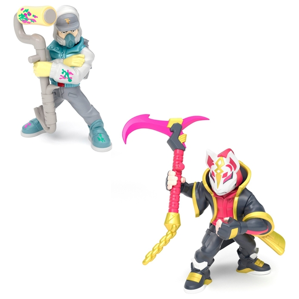 Drift and Abstrakt Duo Figure Pack Fortnite Battle Royale Collection