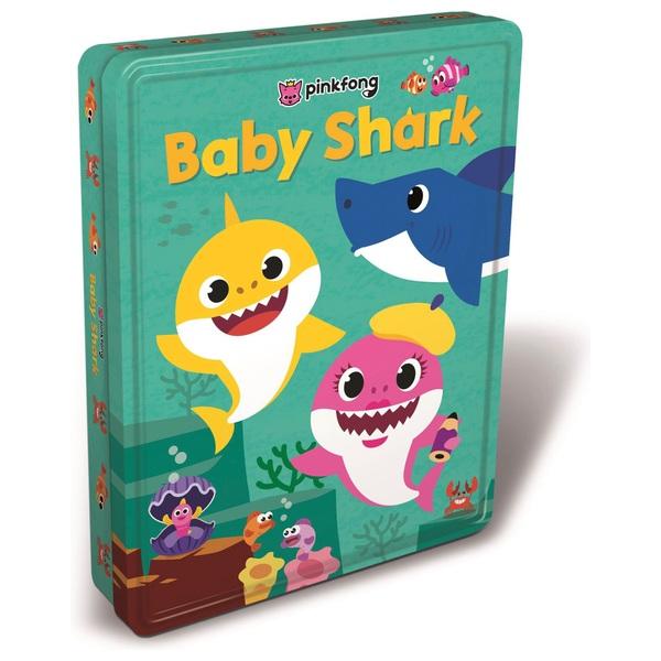 Baby Shark Tin Of Books Colour Activity Sticker Books