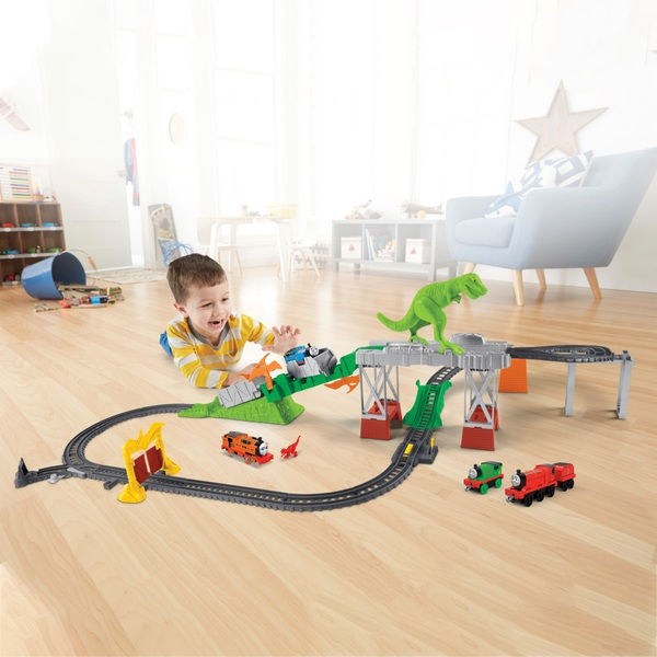 Thomas & Friends Trackmaster Deluxe Dino Escape Set