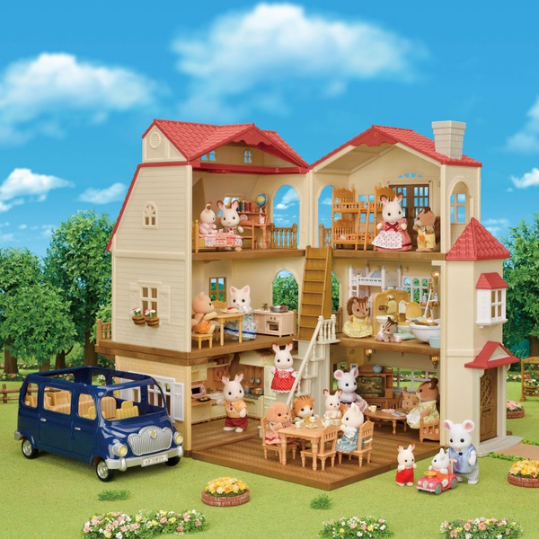 Sylvanian Families Red Roof Mansion