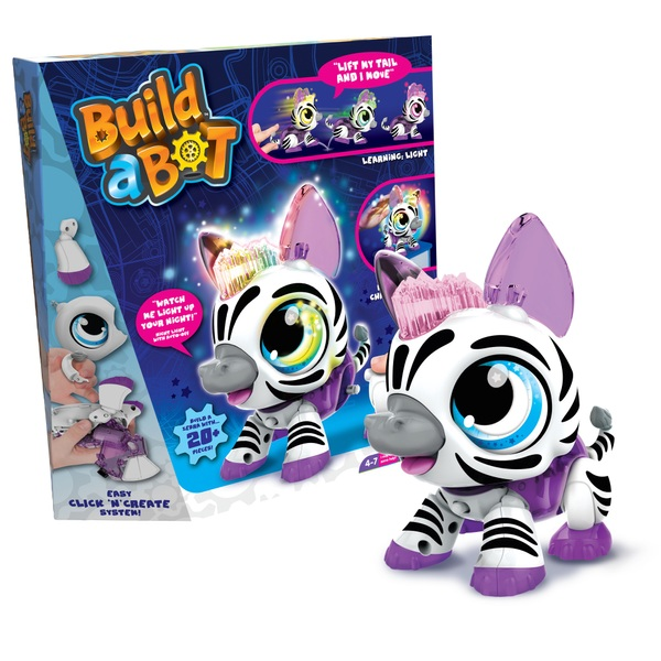 Build a Bot Light Up Zebra