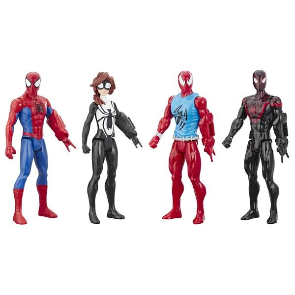 Titan Hero Series Action Figure 4 Pack Marvel Spider-Man