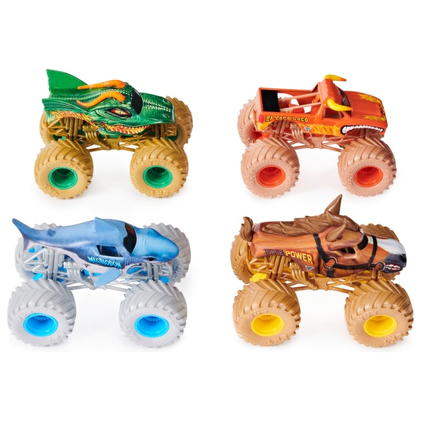Monster Jam 1:64 Diecast 4 Pack Assortment