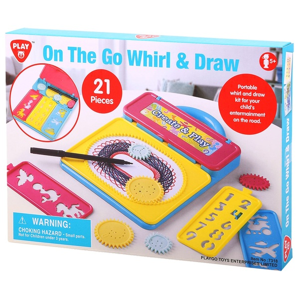 On the Go Whirl & Draw - 21 Pieces