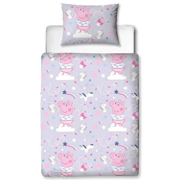 4 piece Junior Bedding Bundle Peppa Pig
