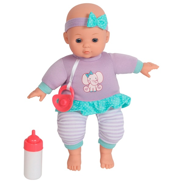 Dream Collection Basic Doll with Dummy and Bottle