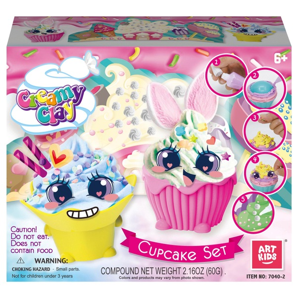 Creamy Clay Cupcake Set