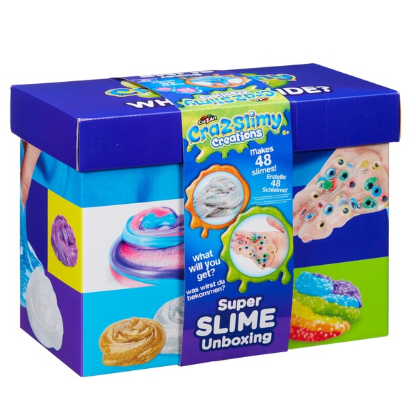 Cra-z-Slimy Creations Super Slime Unboxing