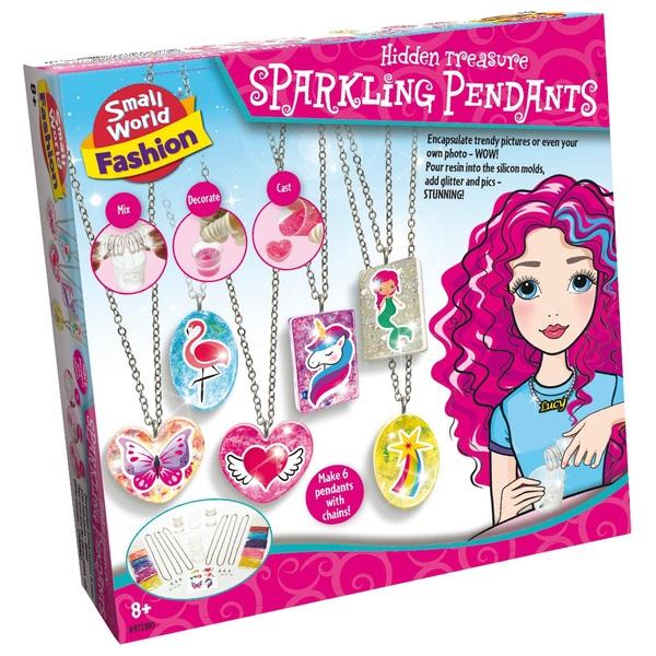 Hidden Treasure - Sparkling Pendants