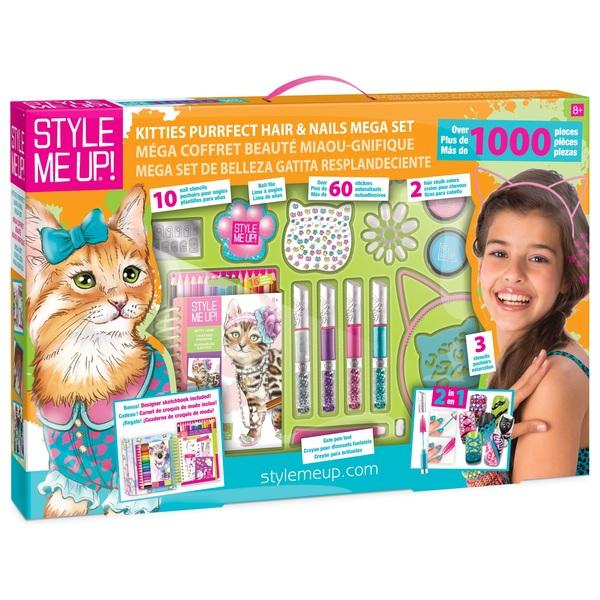 Style Me Up Kitties Hair and Nails Mega Set