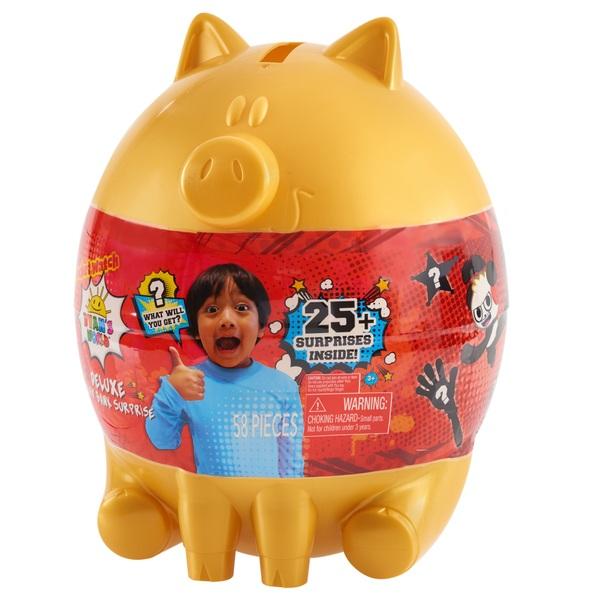 Ryan's World Deluxe Piggy Bank Surprise