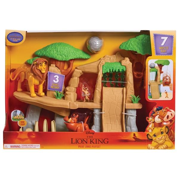 The Lion King Classic Pride Land Playset Smyths Toys Uk