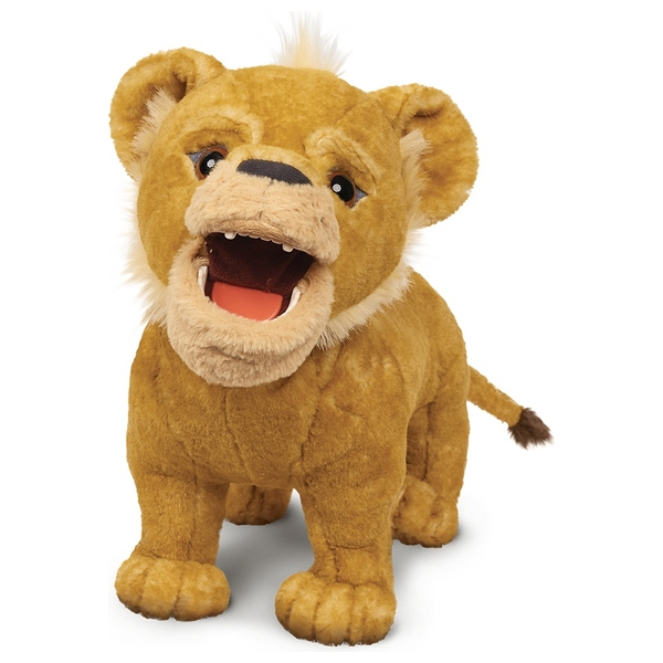 The Lion King Live Action Roaring Simba The Lion King Smyths Toys Uk