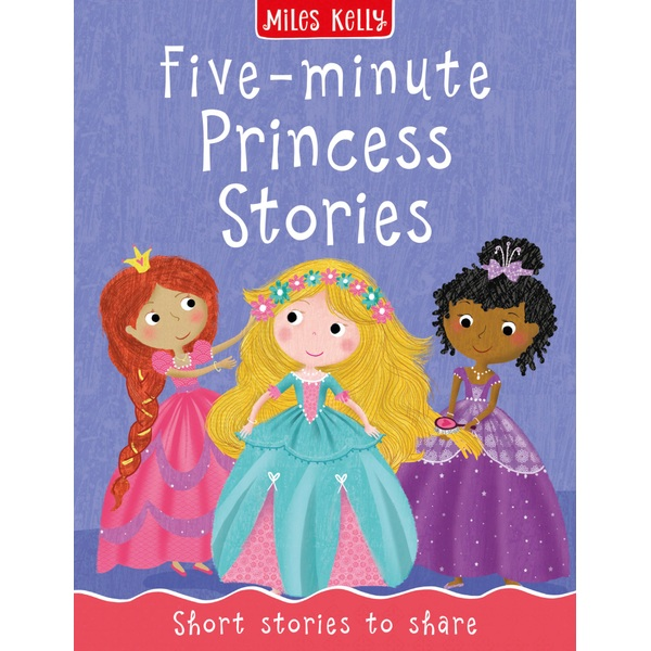 Five Minute Princess Stories Paperback Book