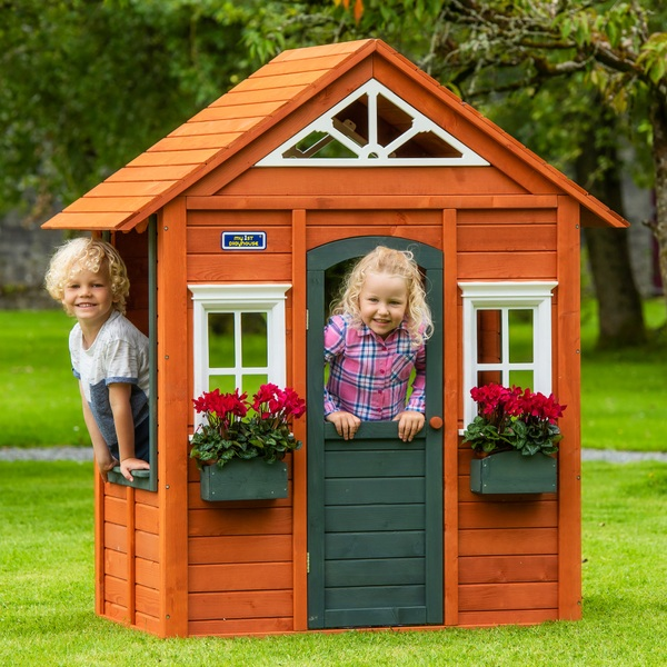 Wooden Cubby House