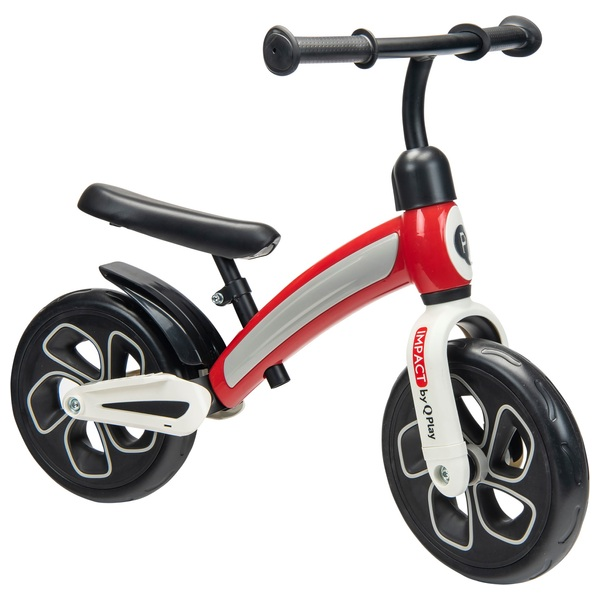 10 Inch Q Play Impact Balance Bike Red