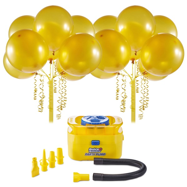 Zuru Bunch O Balloons Party Pump - Gold