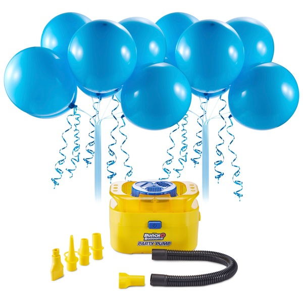 Partybedarfballons - Bunch O Balloons Party Starter Set, Luftballons LuftballonpumpeBlau - Onlineshop Smyths Toys