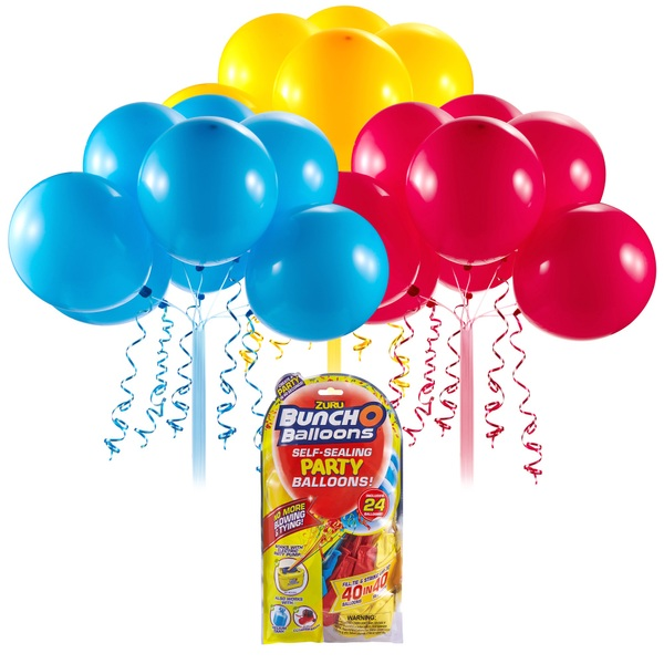 Bunch O Balloons Self Sealing Party Balloons Red/Blue/Yellow