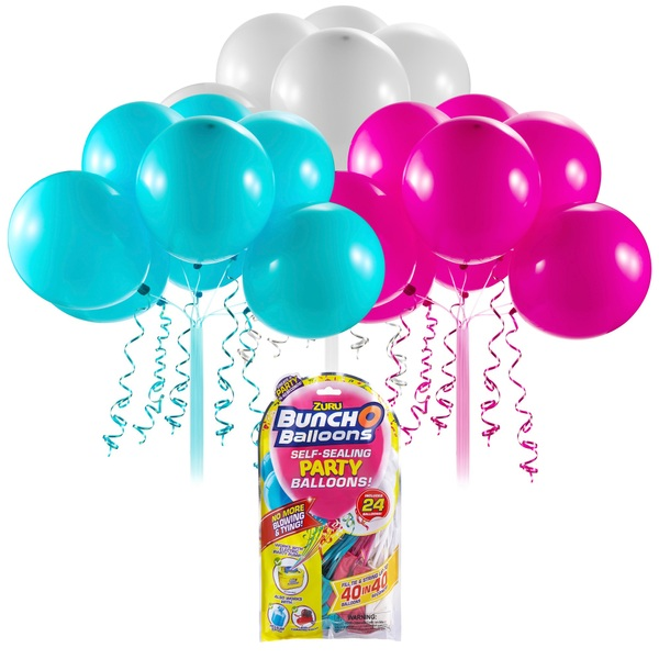 Bunch O Balloons Self Sealing Party Balloons Pink/Teal/White