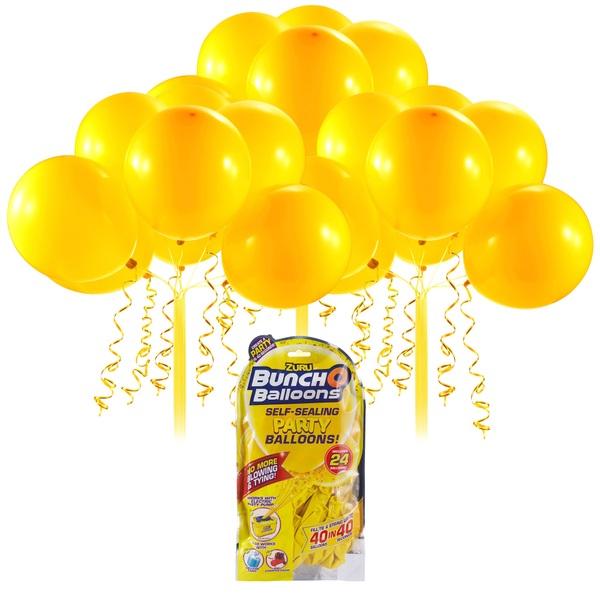 Partybedarfballons - Bunch O Balloons Party Nachfüll Pack 24 Ballons, gelb - Onlineshop Smyths Toys