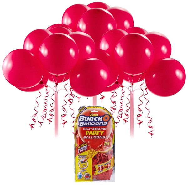 Partybedarfballons - Bunch O Balloons Party Nachfüll Pack 24 Ballons, rot - Onlineshop Smyths Toys