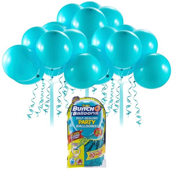 Partybedarfballons - Bunch O Balloons Party Nachfüll Pack 24 Ballons, türkis - Onlineshop Smyths Toys
