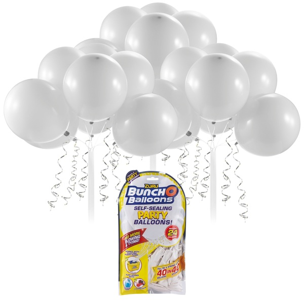 Partybedarfballons - Bunch O Balloons Party Nachfüll Pack 24 Ballons, weiß - Onlineshop Smyths Toys