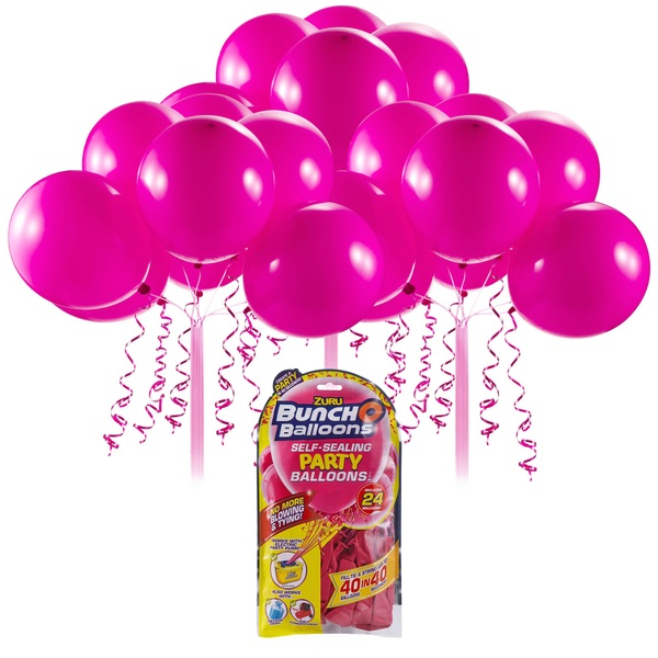 Partybedarfballons - Bunch O Balloons Party Nachfüll Pack 24 Ballons, pink - Onlineshop Smyths Toys
