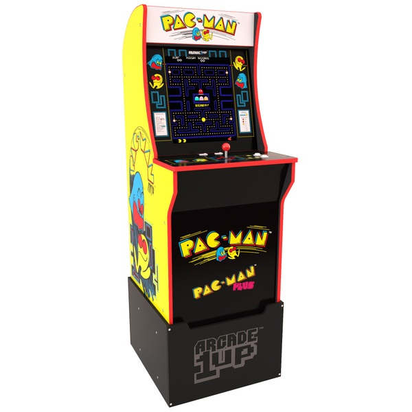 Arcade1Up PAC-MAN Cabinet Including Riser
