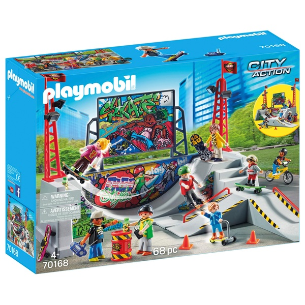 Playmobil 70168 City Action Skate Park