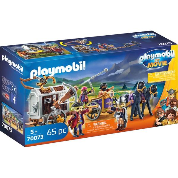 Playmobil 70073 Playmobil: The Movie Charlie with Prison Wagon