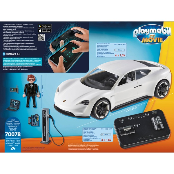 Playmobil 70078 Playmobil: The Movie Rex Dasher's Porsche Mission E -  Playmobil UK