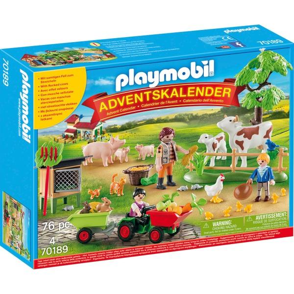 - PLAYMOBIL 70189 Adventskalender Auf dem Bauernhof - Onlineshop Smyths Toys
