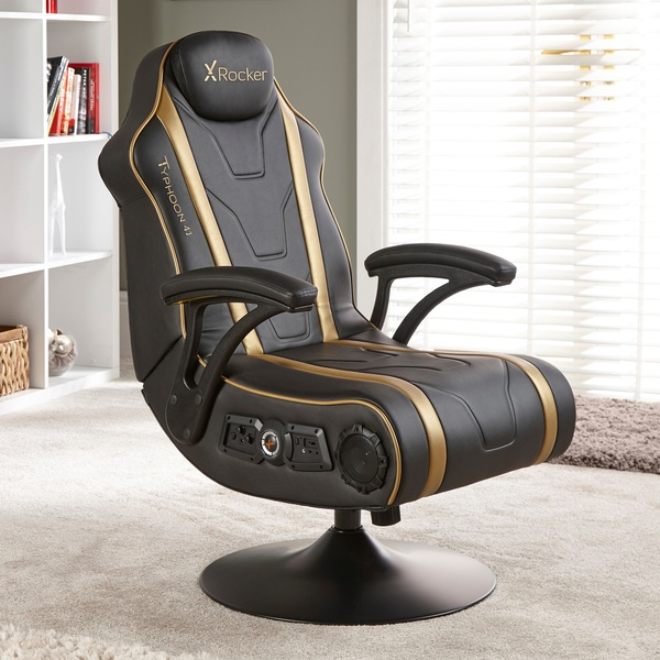 Magnificent X Rocker Typhoon 4 1 Gaming Chair Smyths Toys Ireland Pdpeps Interior Chair Design Pdpepsorg