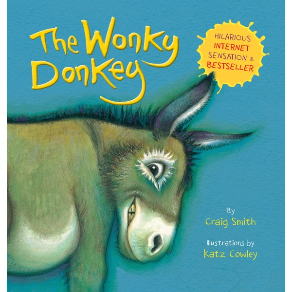 The Wonky Donkey Paperback Book by Craig Smith