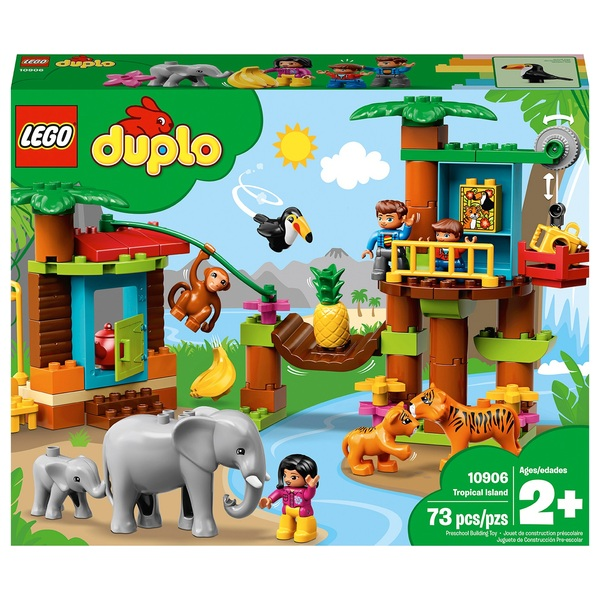 LEGO 10906 DUPLO Town Tropical Island Set For Toddlers