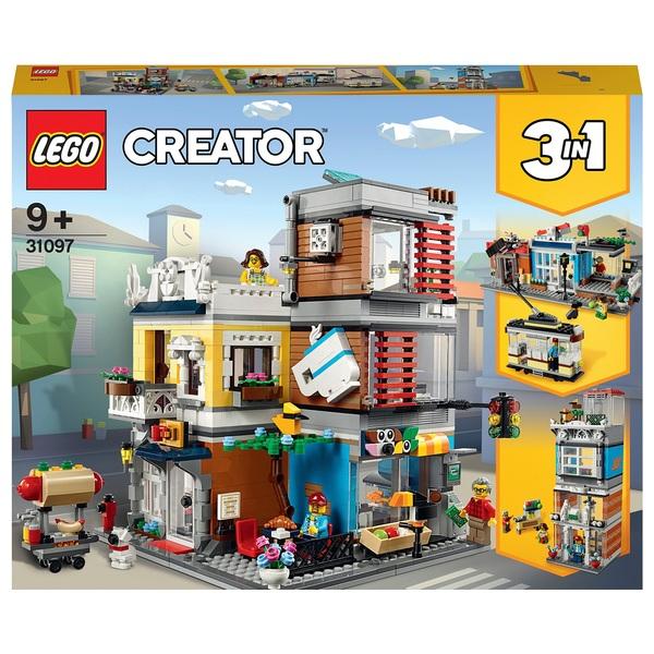 LEGO 31097 Creator 3in1 Townhouse Pet Shop & Café Set