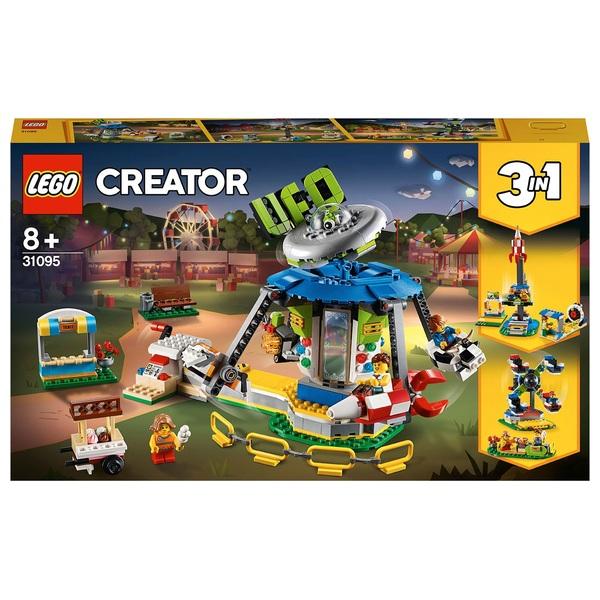 LEGO 31095 Creator 3in1 Fairground Carousel Building Set