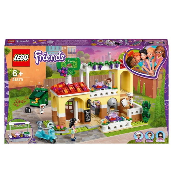 LEGO 41379 Friends Heartlake City Restaurant Pizzeria Set